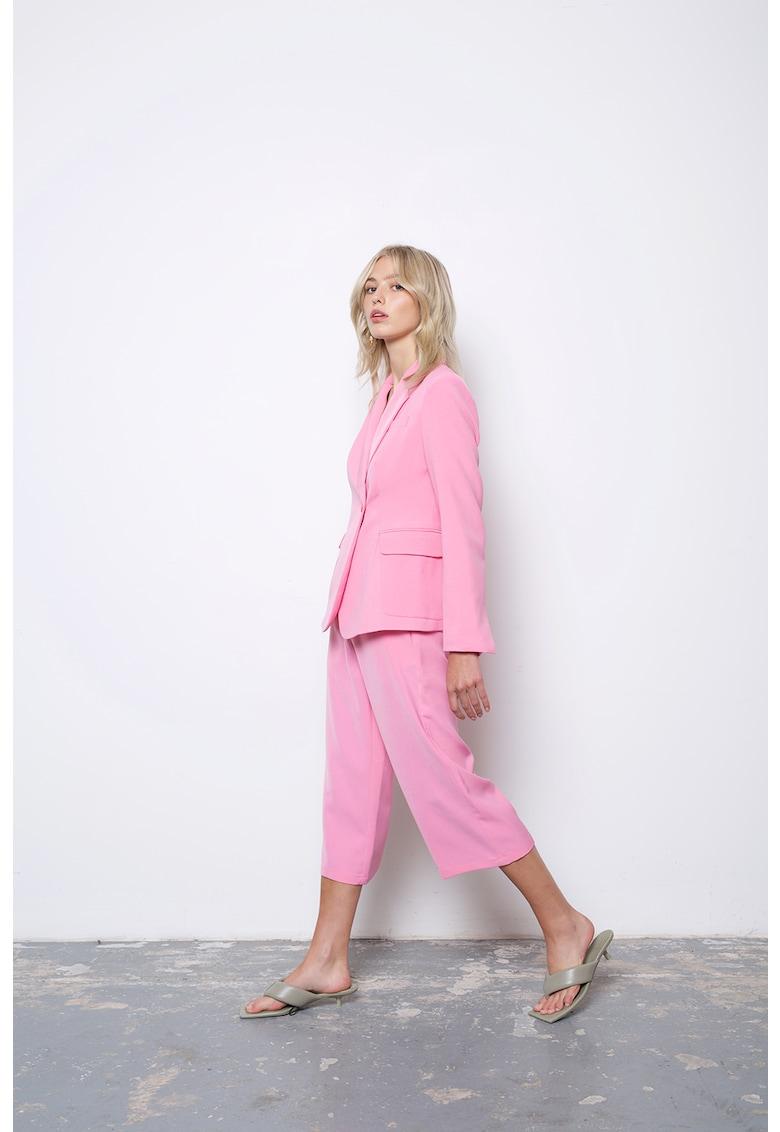 Sacou cu revere decupate Jagger imagine fashiondays.ro 2021