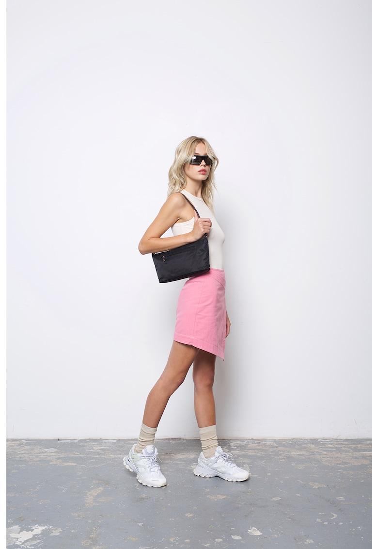 Fusta mini asimetrica Jagger imagine fashiondays.ro AMYLYNN