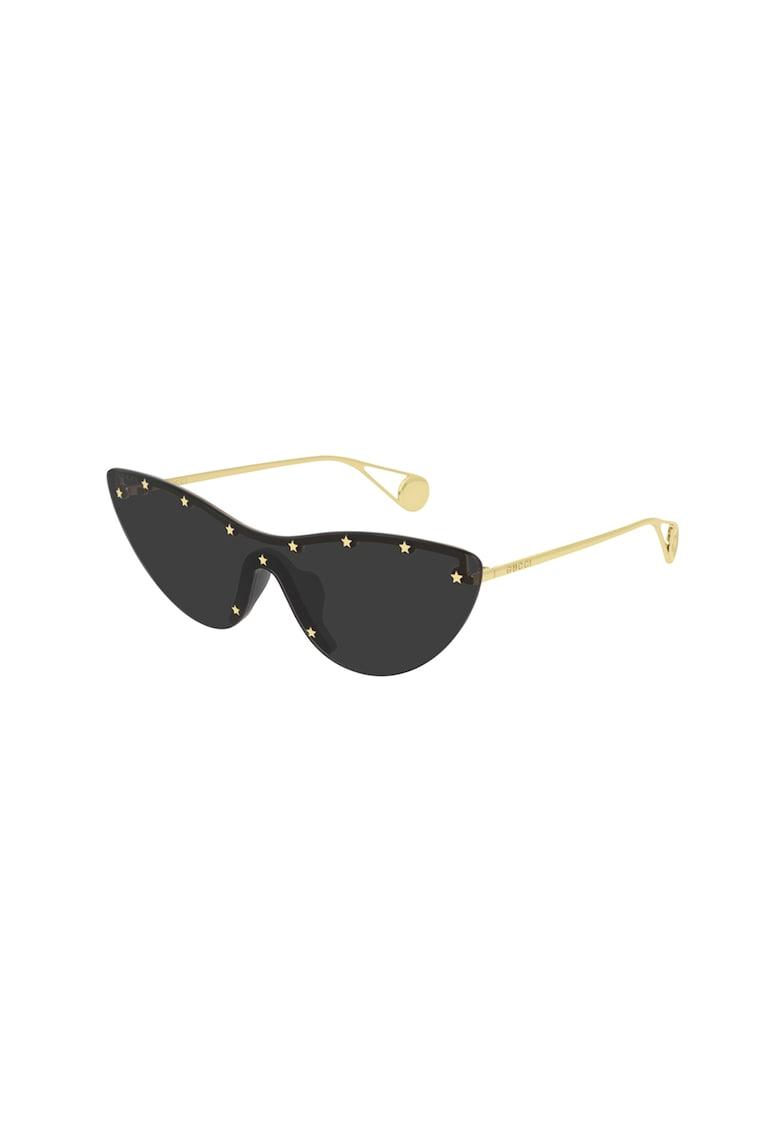 Ochelari de soare cat-eye imagine fashiondays.ro Gucci