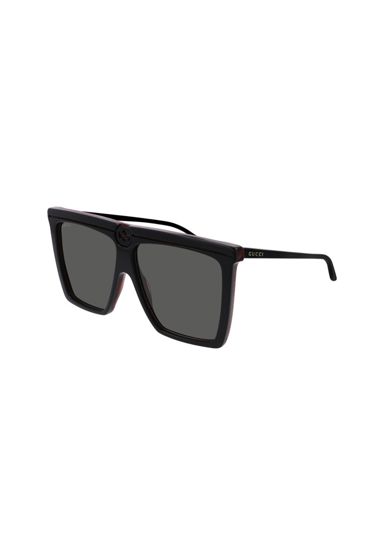 Ochelari de soare unisex dreptunghiulari imagine fashiondays.ro Gucci