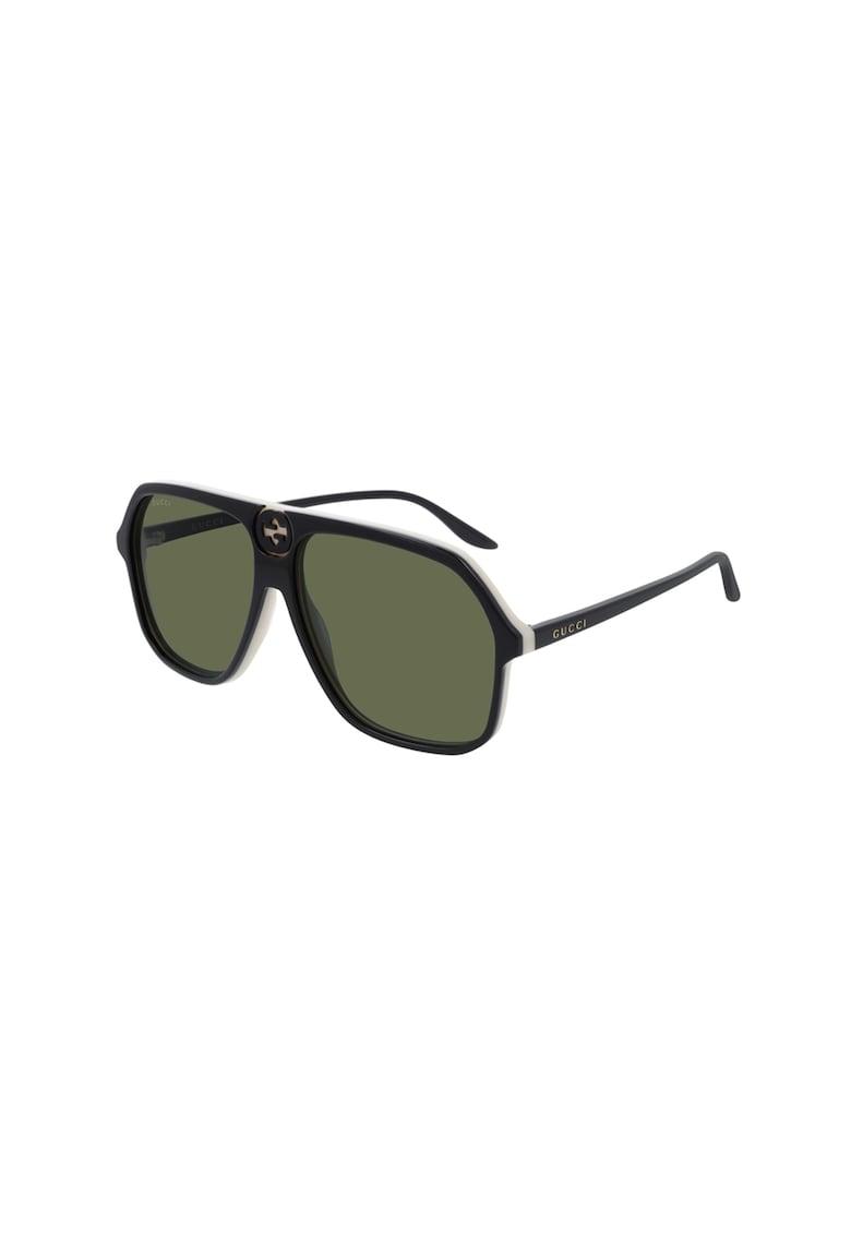 Ochelari de soare pilot unisex imagine fashiondays.ro Gucci