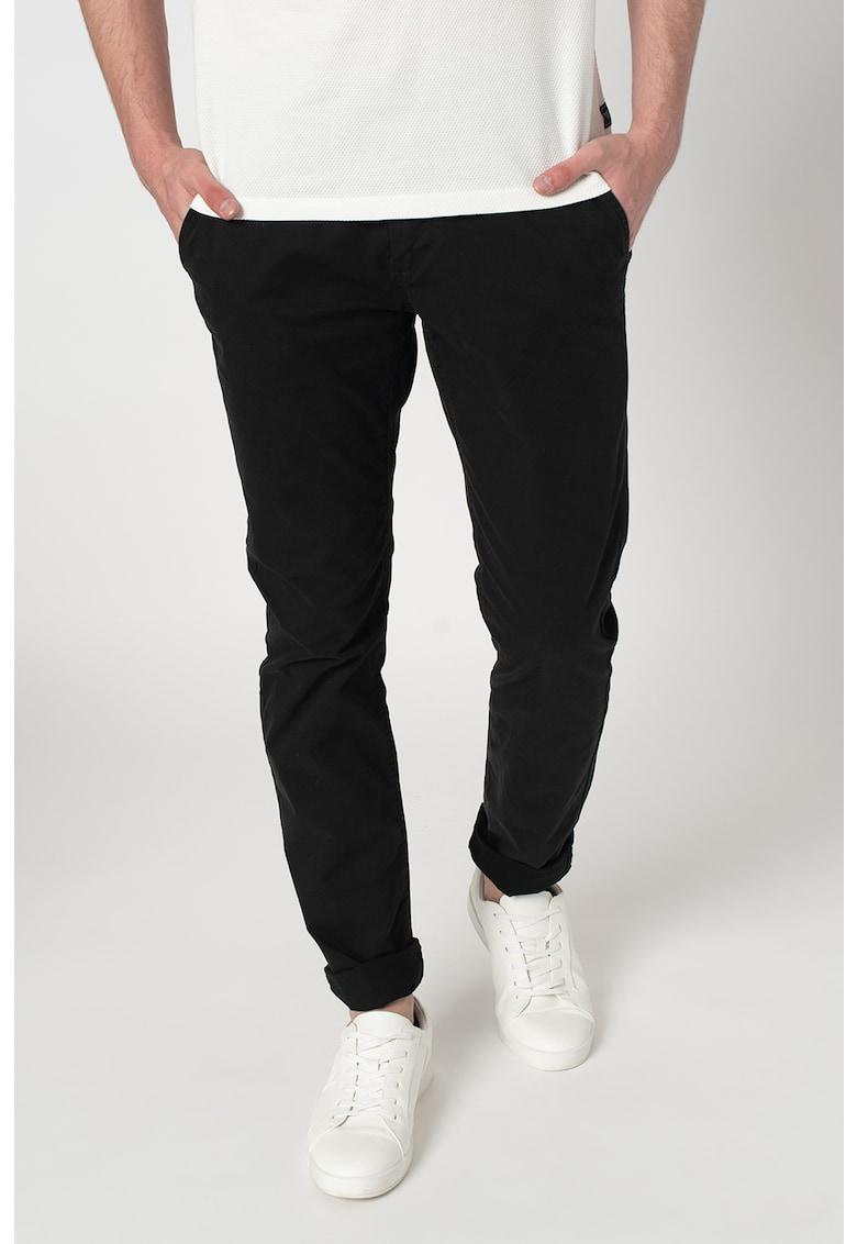 Pantaloni chino slim fit Travis de la Tom Tailor