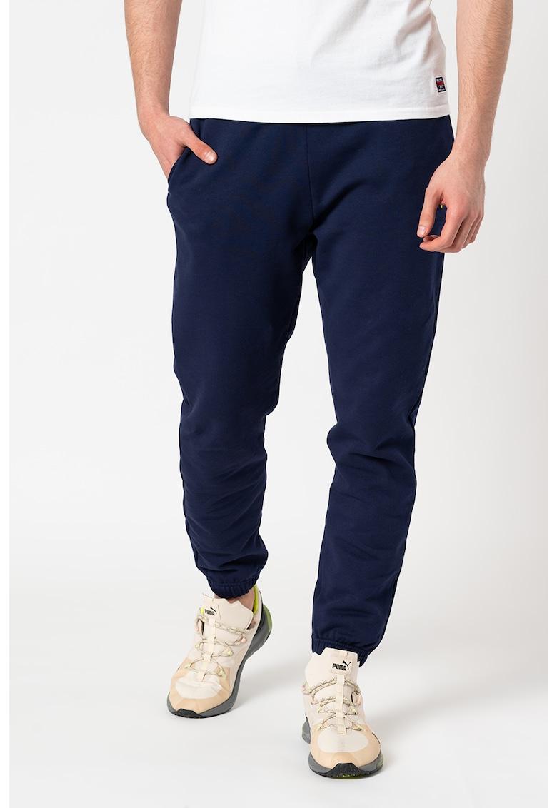 Pantaloni sport slim-fit de bumbac