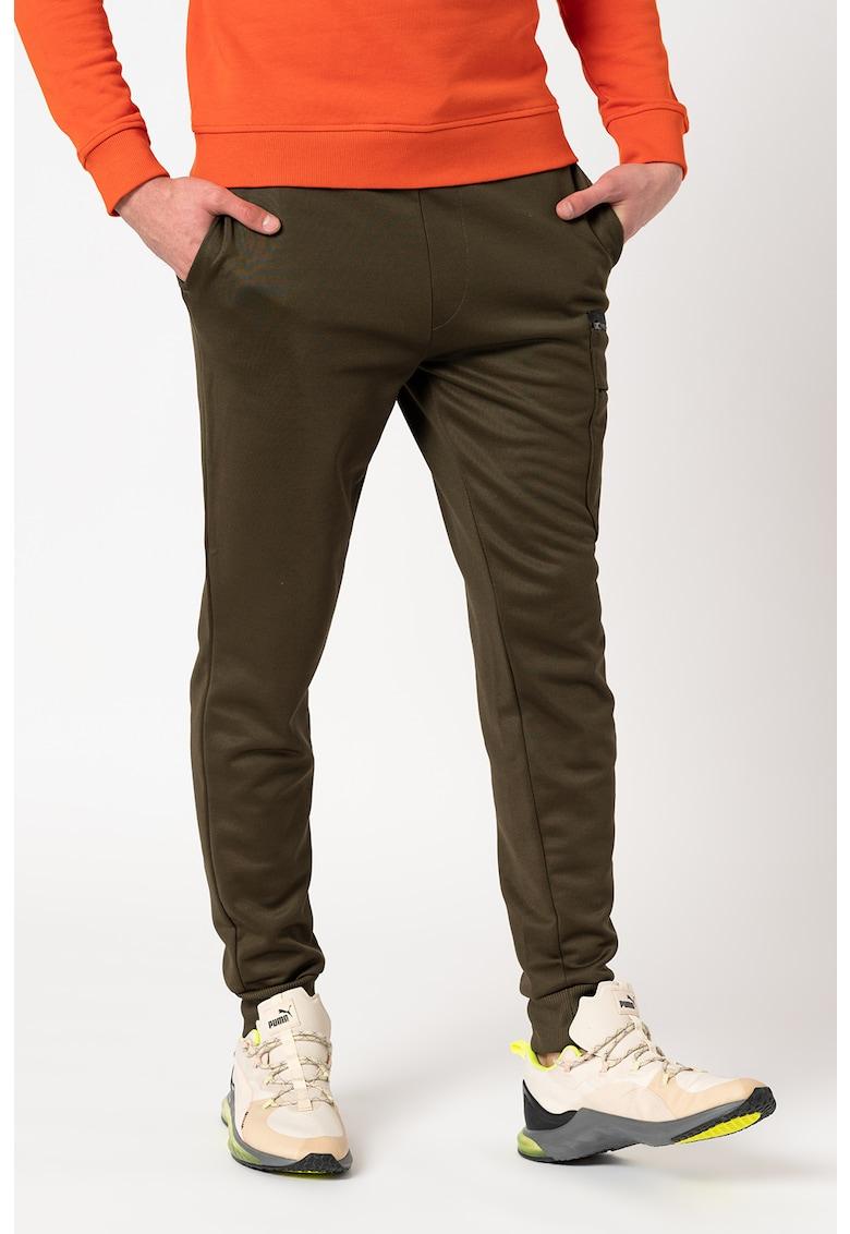 Pantaloni sport cargo cu snur