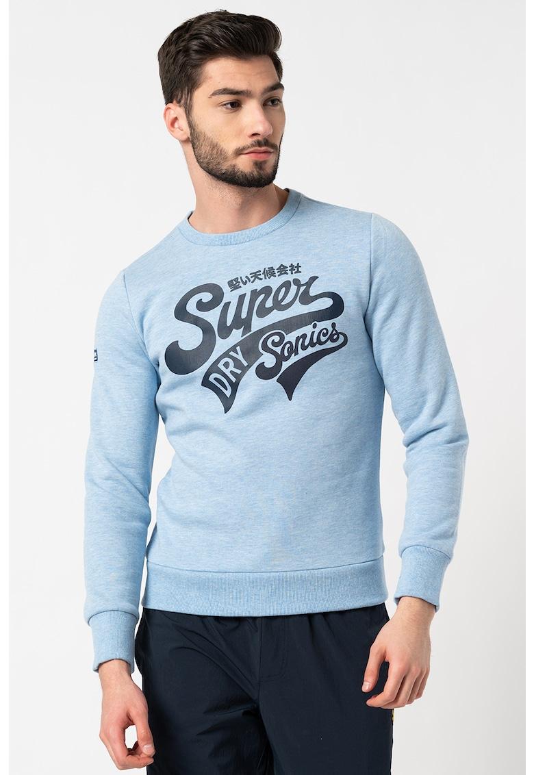 Bluza sport cu imprimeu logo Collegiate de la SUPERDRY
