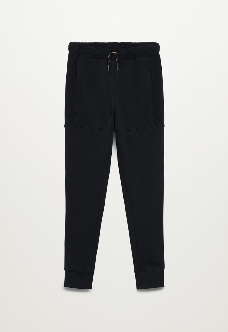 Pantaloni sport cu detalii striate Lewis Mango fashiondays.ro