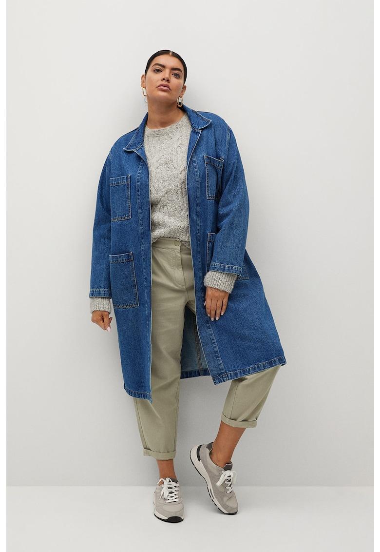 Jacheta din denim cu buzunare supradimensionate Dorothy imagine