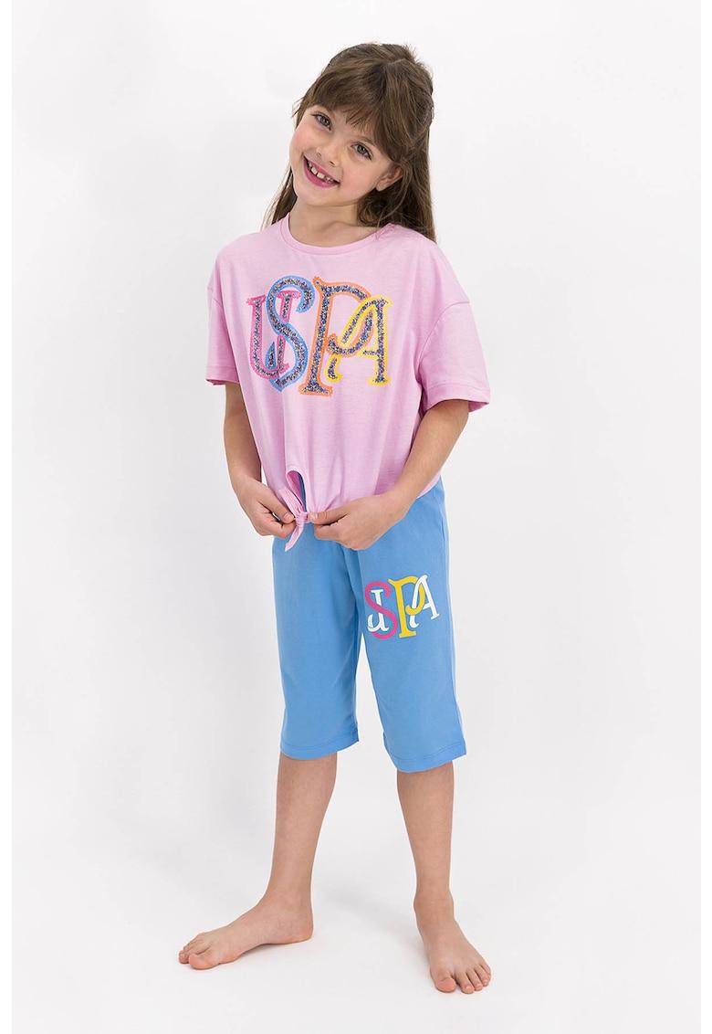 Pijama cu logo imagine fashiondays.ro 2021