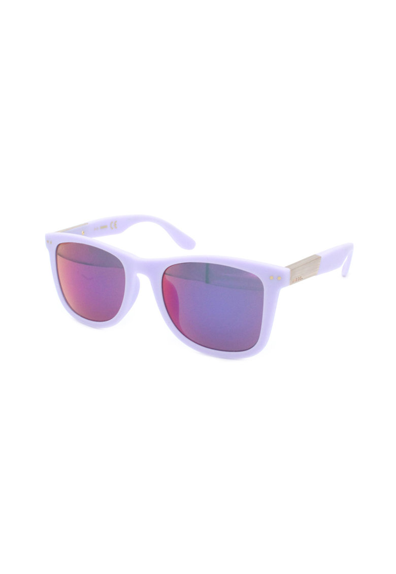 Ochelari de soare wayfarer cu lentile oglinda poza fashiondays