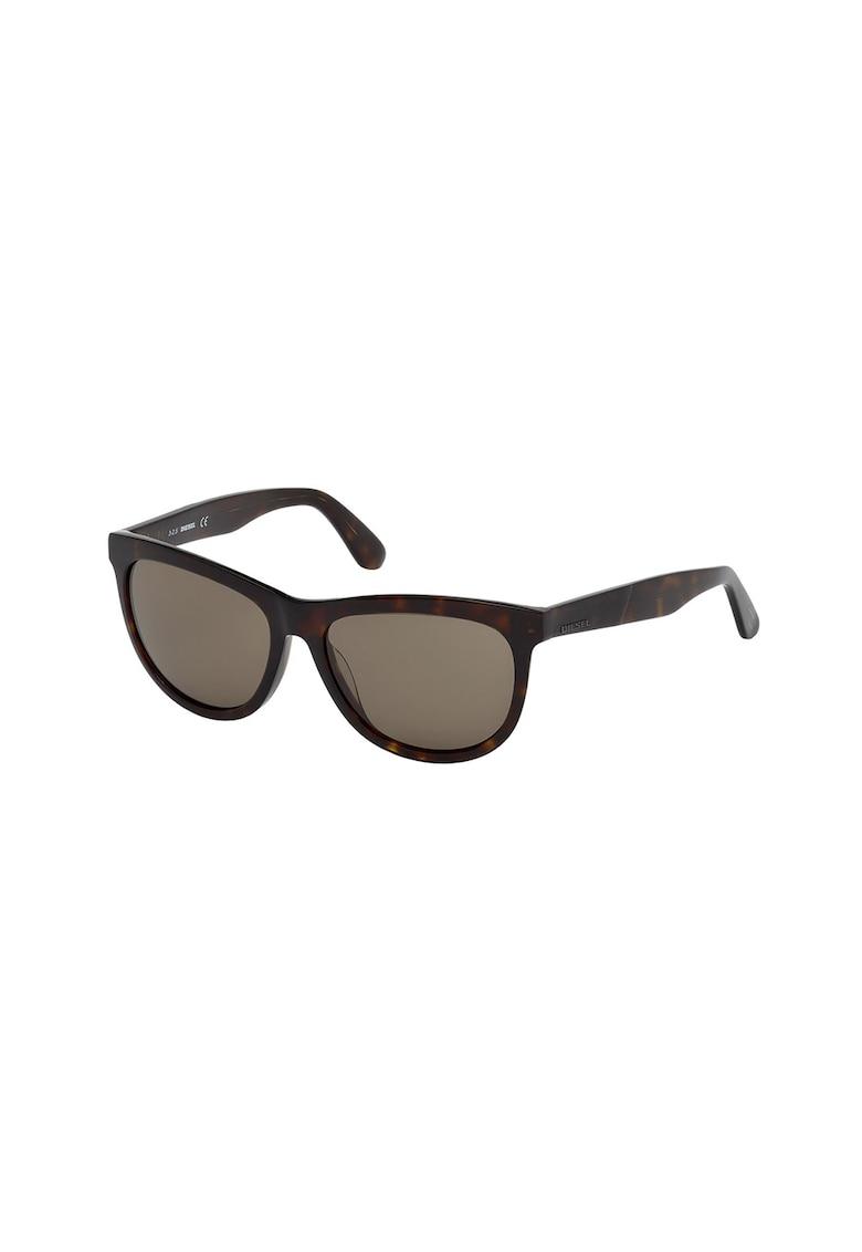 Ochelari de soare unisex cu logo imagine fashiondays.ro Diesel