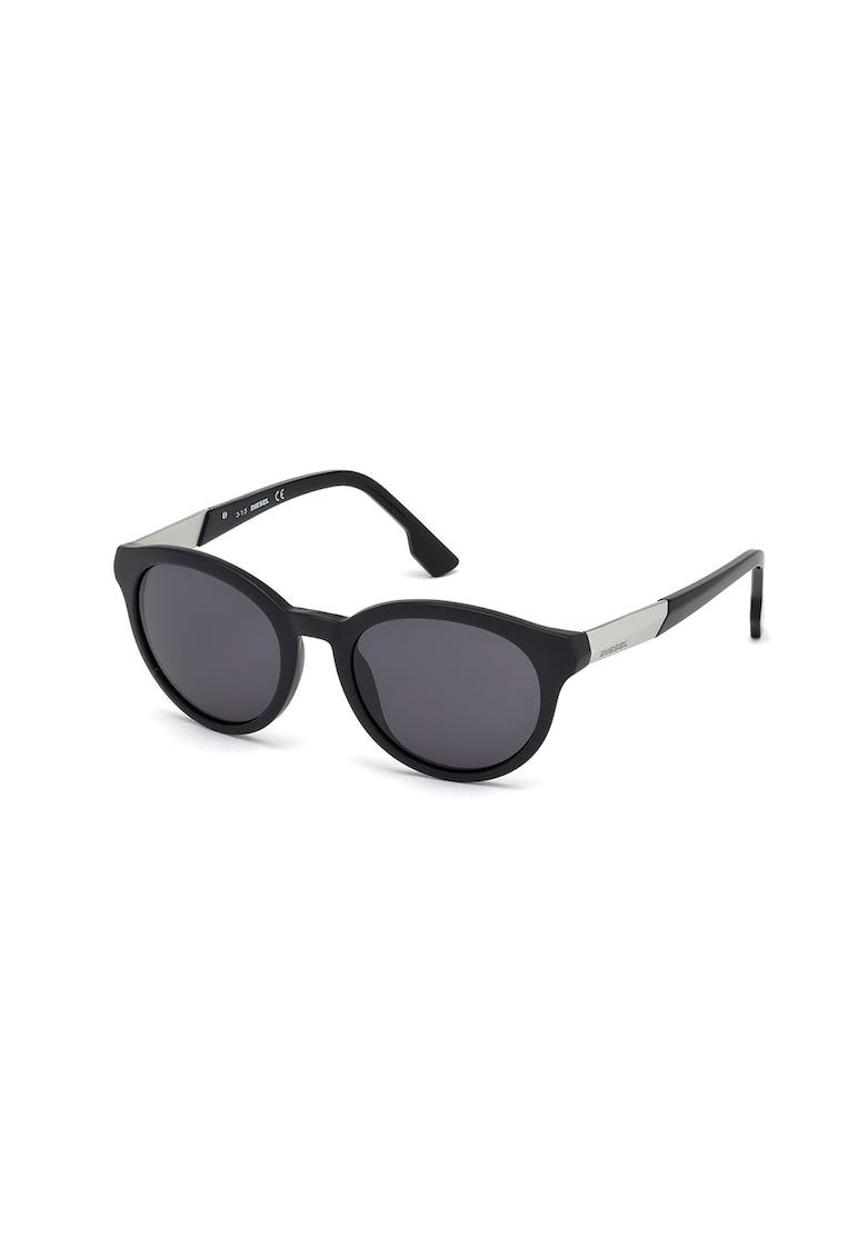 Ochelari de soare unisex cu lentile rotunde imagine fashiondays.ro Diesel
