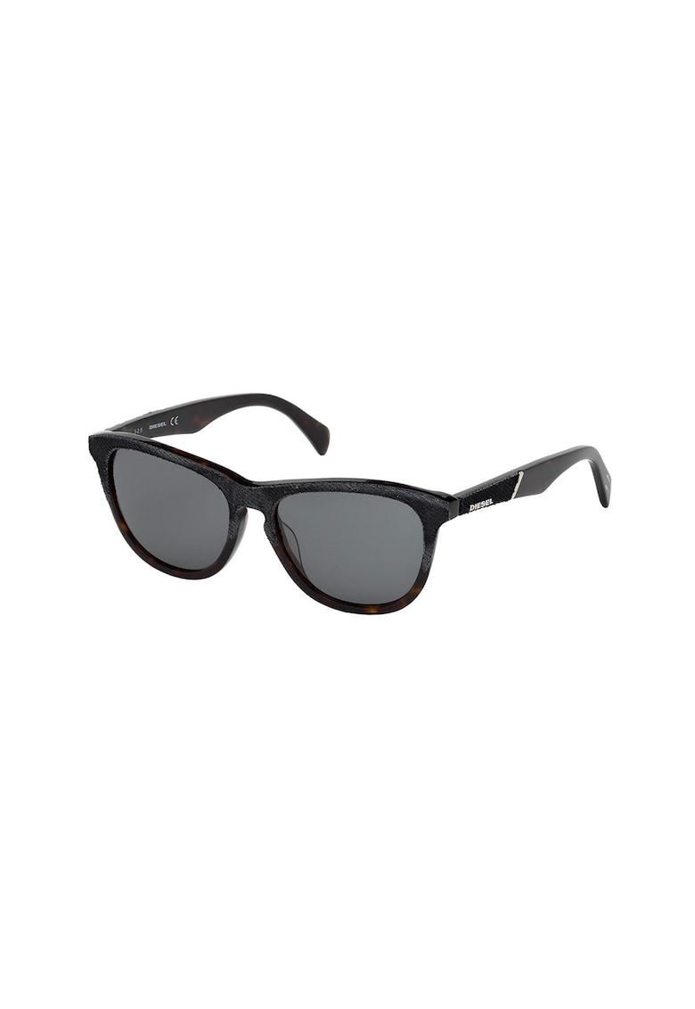 Ochelari de soare unisex cu rame cu material textil poza fashiondays