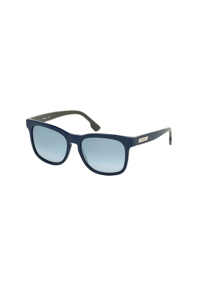 Ochelari de soare unisex patrati cu logo poza fashiondays