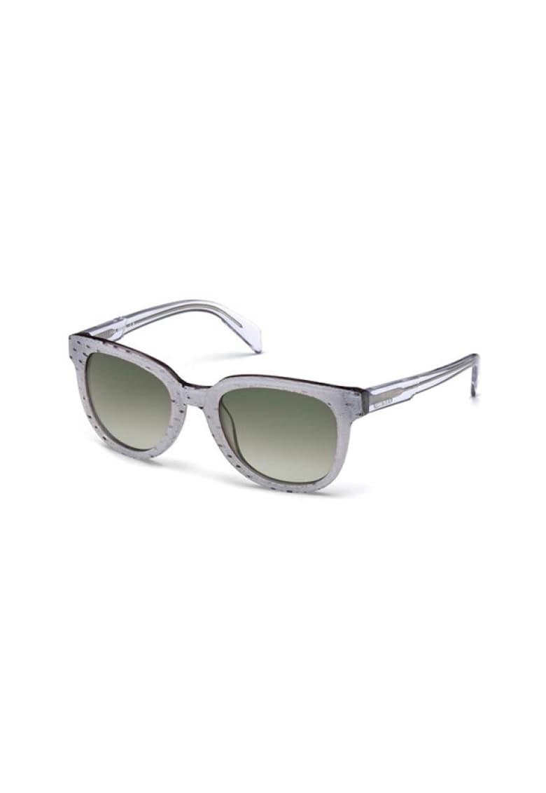 Ochelari de soare rotunzi unisex imagine fashiondays.ro Diesel