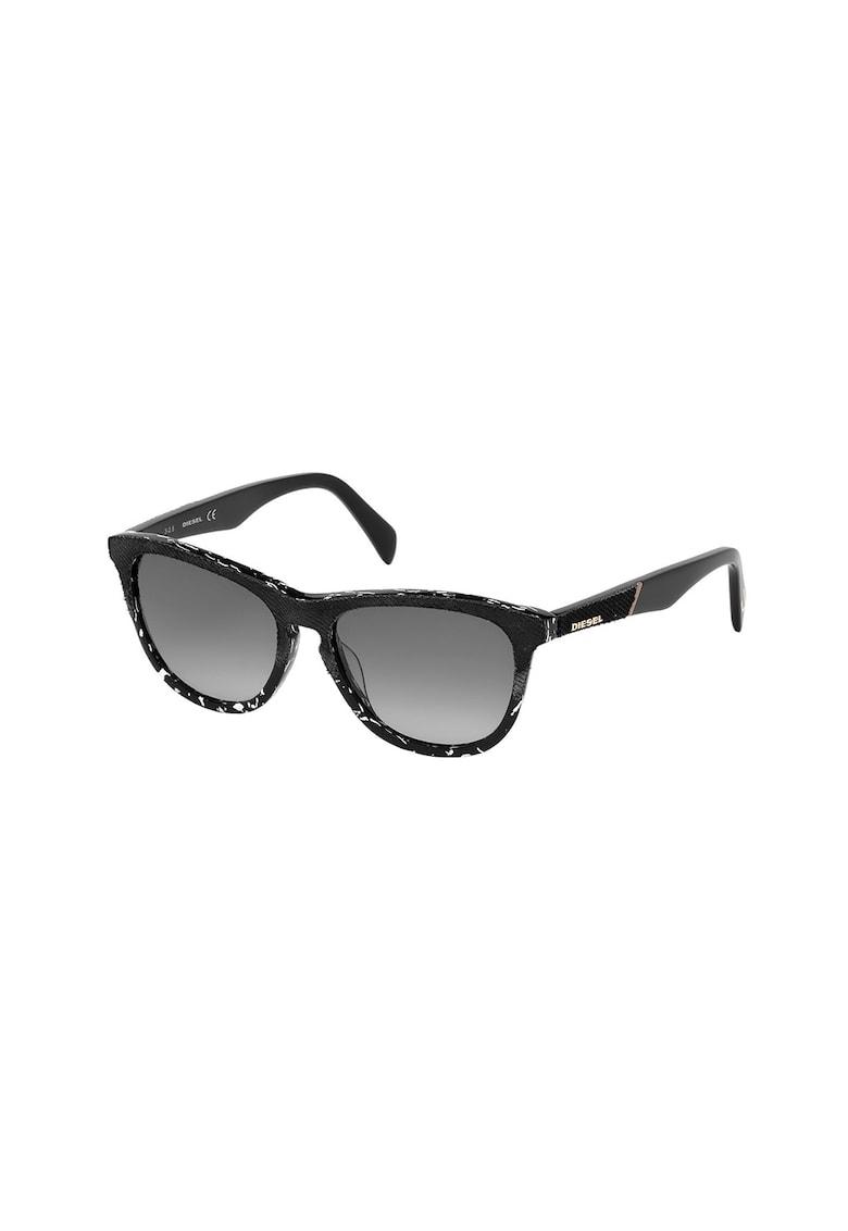Ochelari de soare unisex cu tama cu material textil Diesel fashiondays.ro