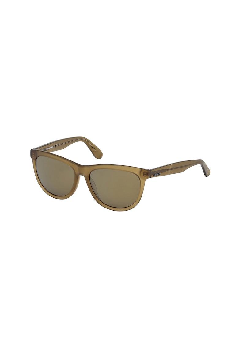 Ochelari de soare unisex cu lentile uni poza fashiondays