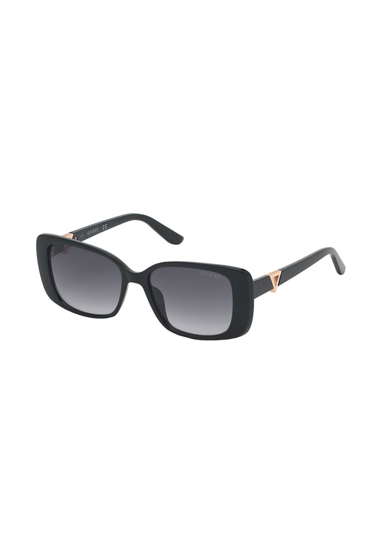 Ochelari de soare patrati cu lentile in degrade de la Guess