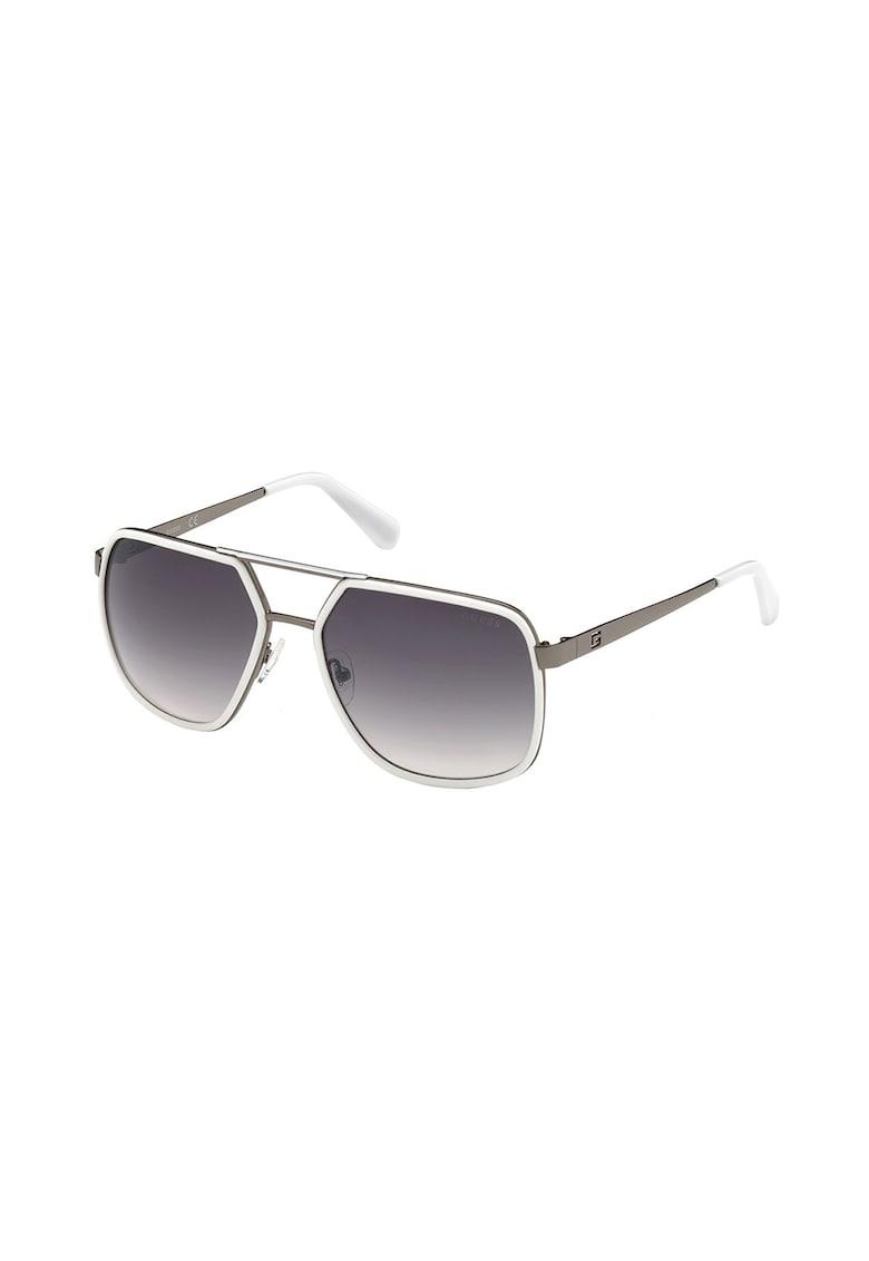 Ochelari de soare patrati cu lentile in degrade poza fashiondays