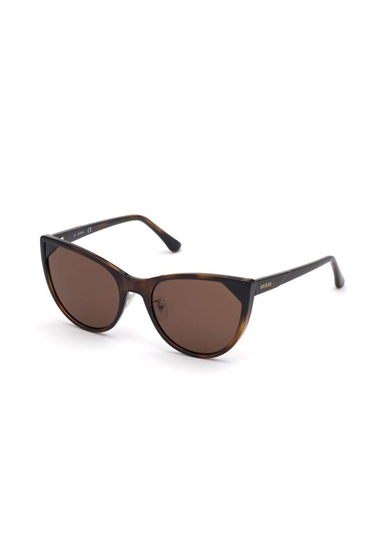 Ochelari de soare cat-eye imagine fashiondays.ro Guess
