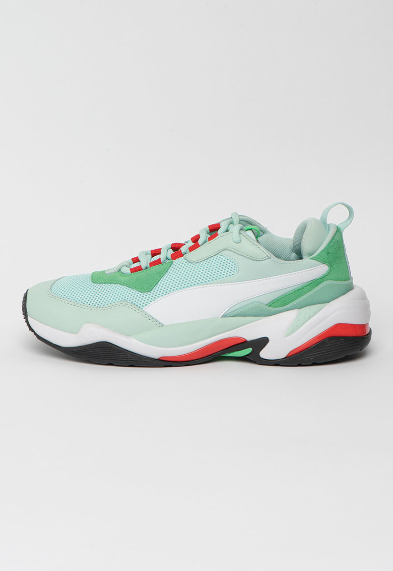 Pantofi sport din piele ecologica si plasa Thunder Spectra