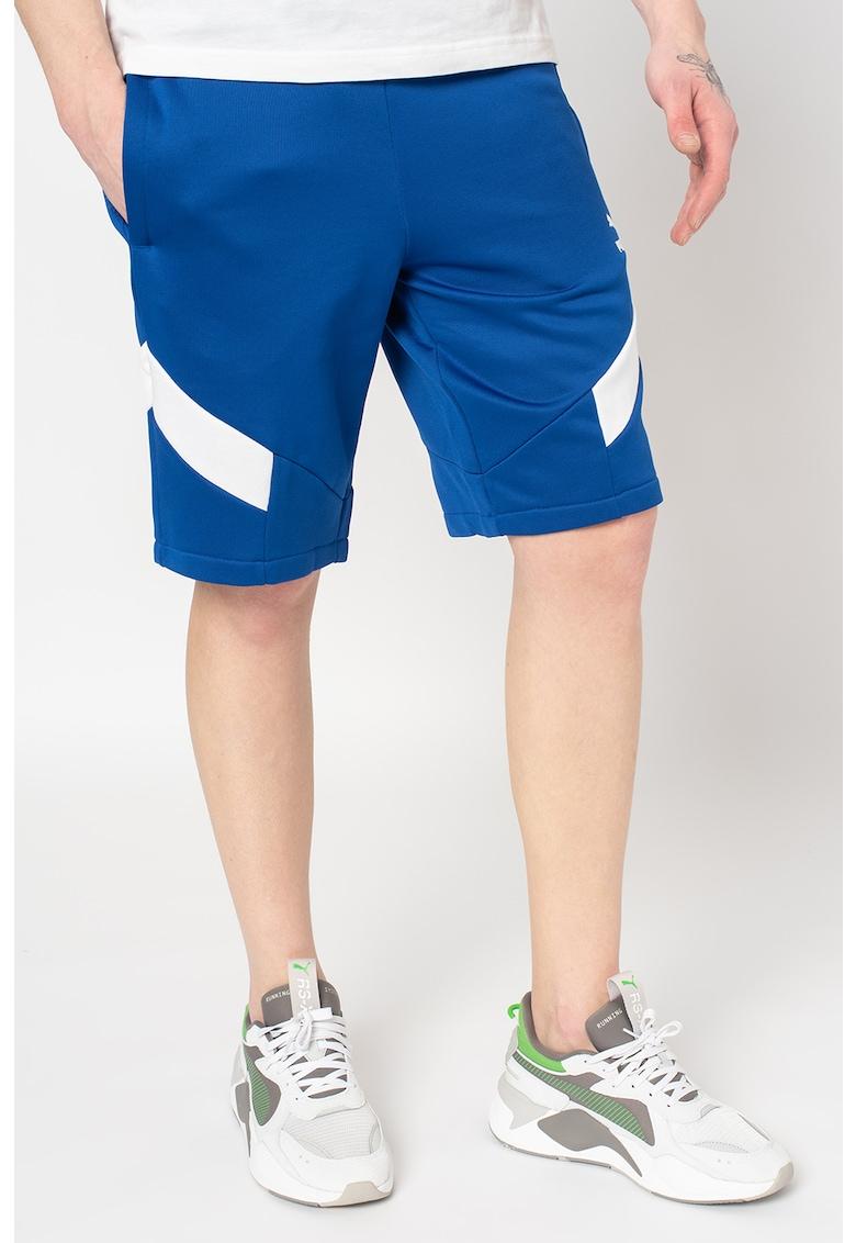 Pantaloni scurti cu snur in talie pentru fitness Iconic MCS imagine fashiondays.ro 2021