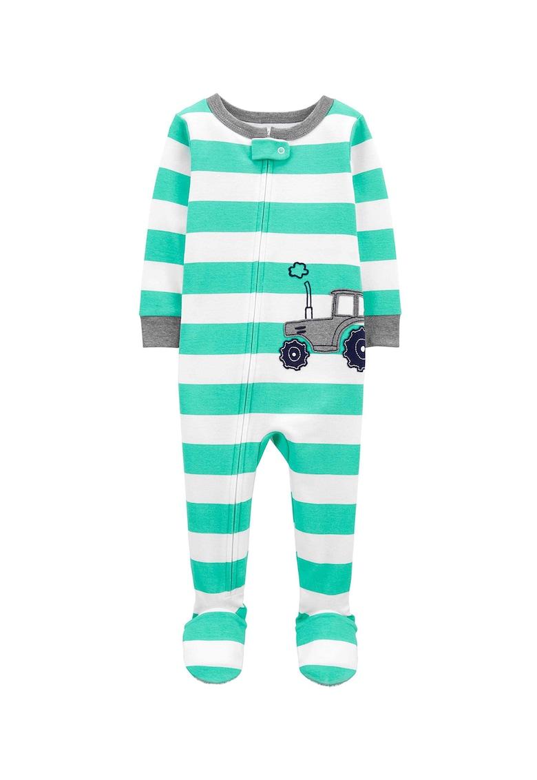 Pijama cu botosei si imprimeu imagine fashiondays.ro 2021