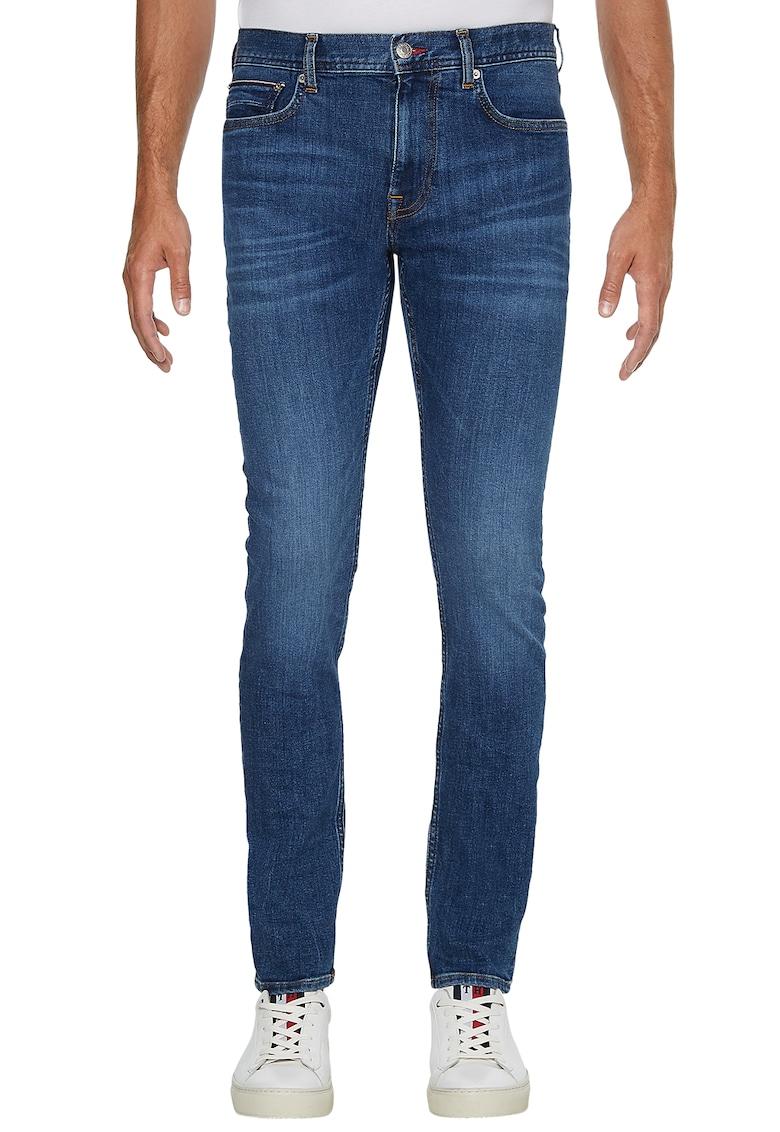 Blugi extra-slim fit Layton imagine fashiondays.ro Tommy Hilfiger