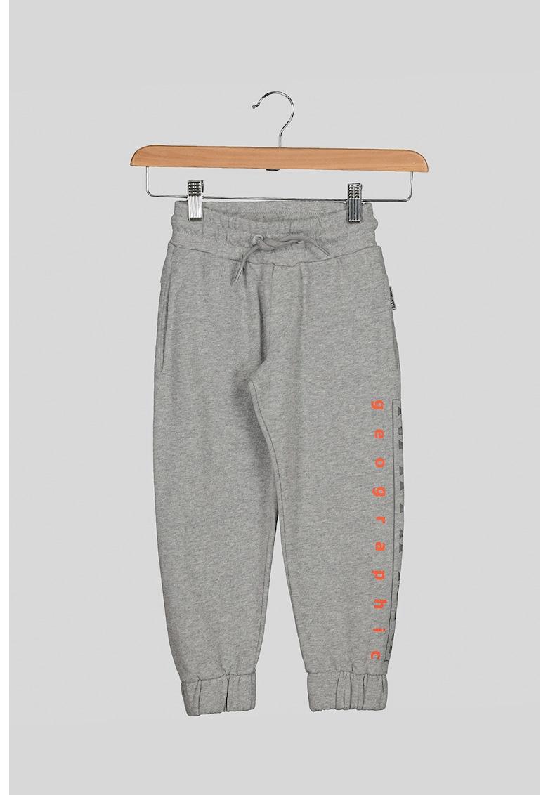 Pantaloni sport cu imprimeu logo Napapijri fashiondays.ro