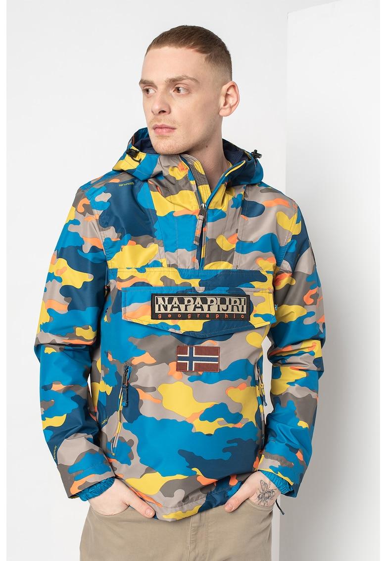 Jacheta cu model camuflaj si fara inchidere Rainforest