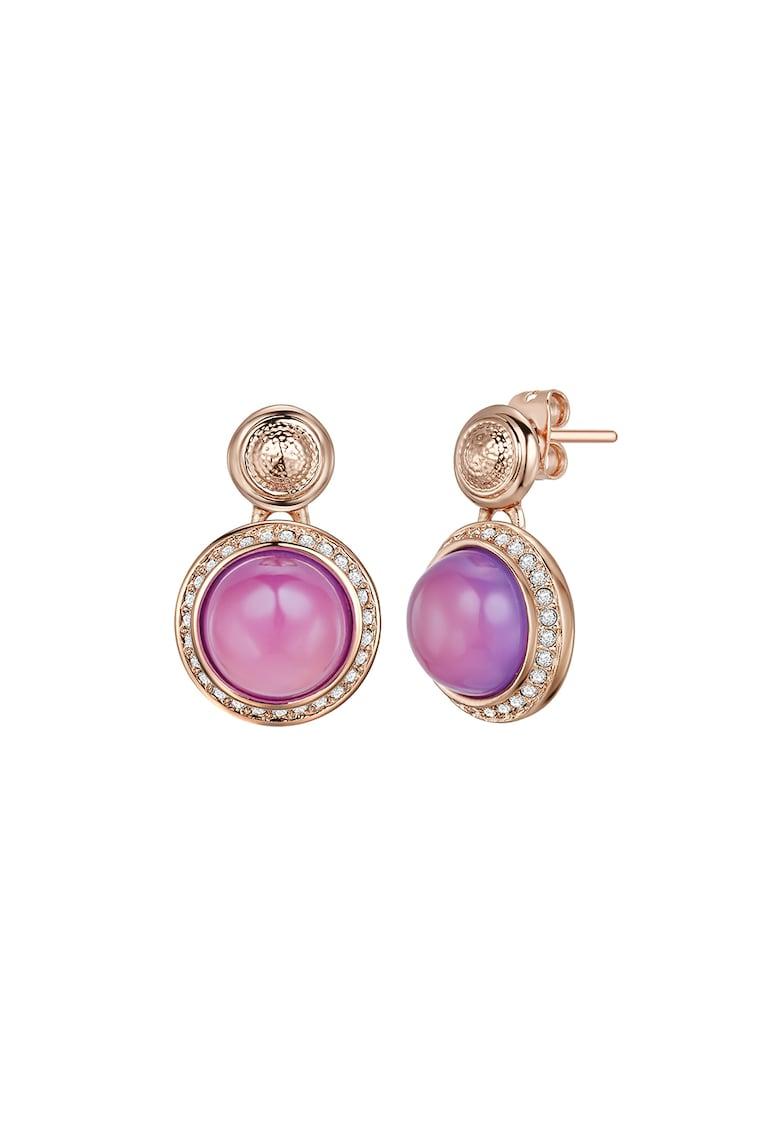 Cercei drop cu cristale Swarovski® imagine fashiondays.ro