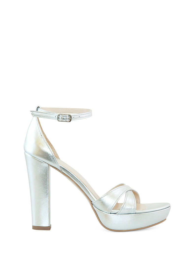 Sandale de piele cu toc inalt Jilian Diane Marie fashiondays.ro