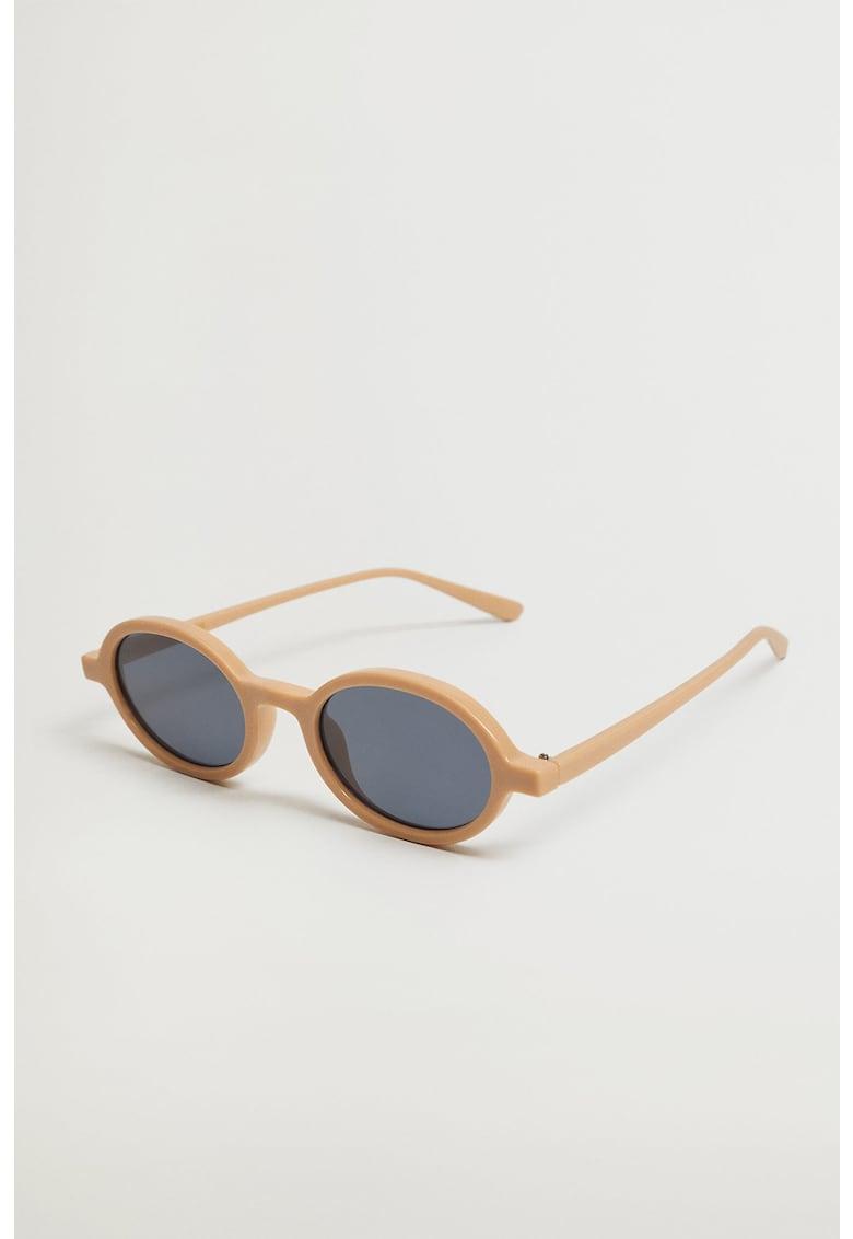 Ochelari de soare rotunzi Duo imagine fashiondays.ro Mango