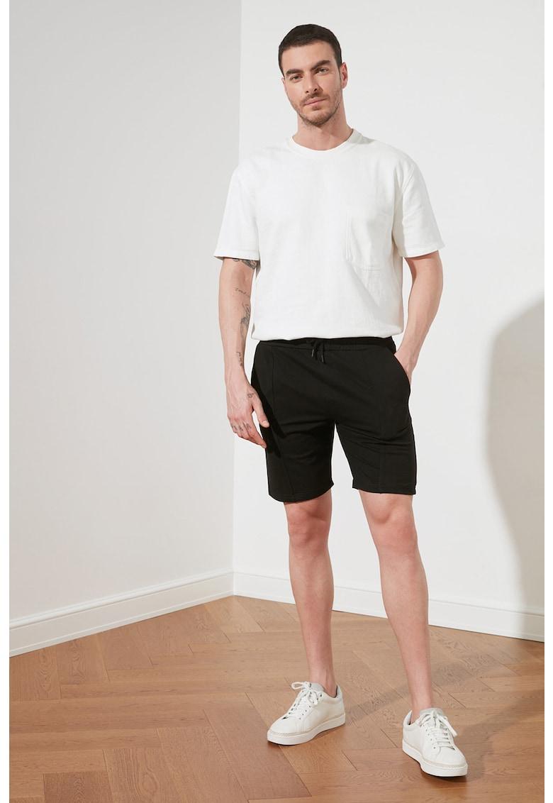 Pantaloni scurti sport cu snur pentru ajustare
