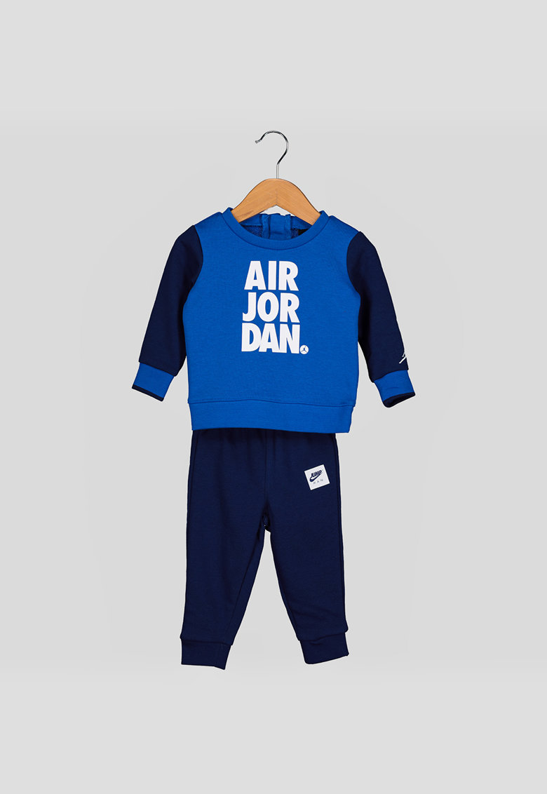 Tricou din amestec de bumbac cu imprimeu logo Jumpman poza fashiondays