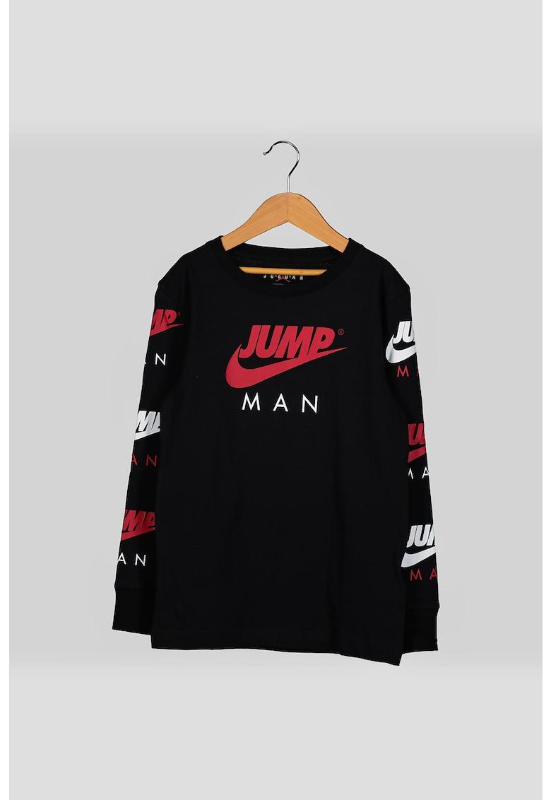 Bluza sport cu model logo Triple Threat imagine fashiondays.ro Nike