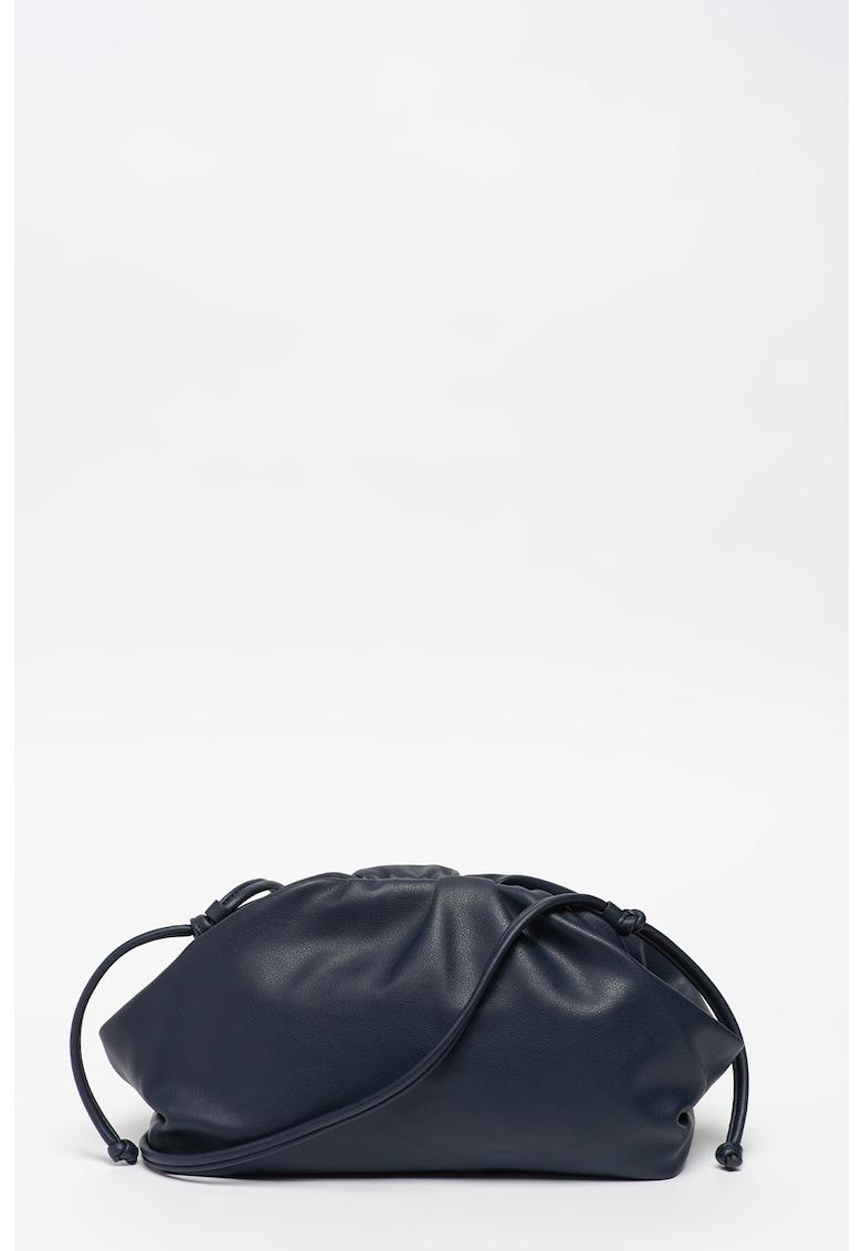 Geanta de piele ecologica cu bareta de umar poza fashiondays