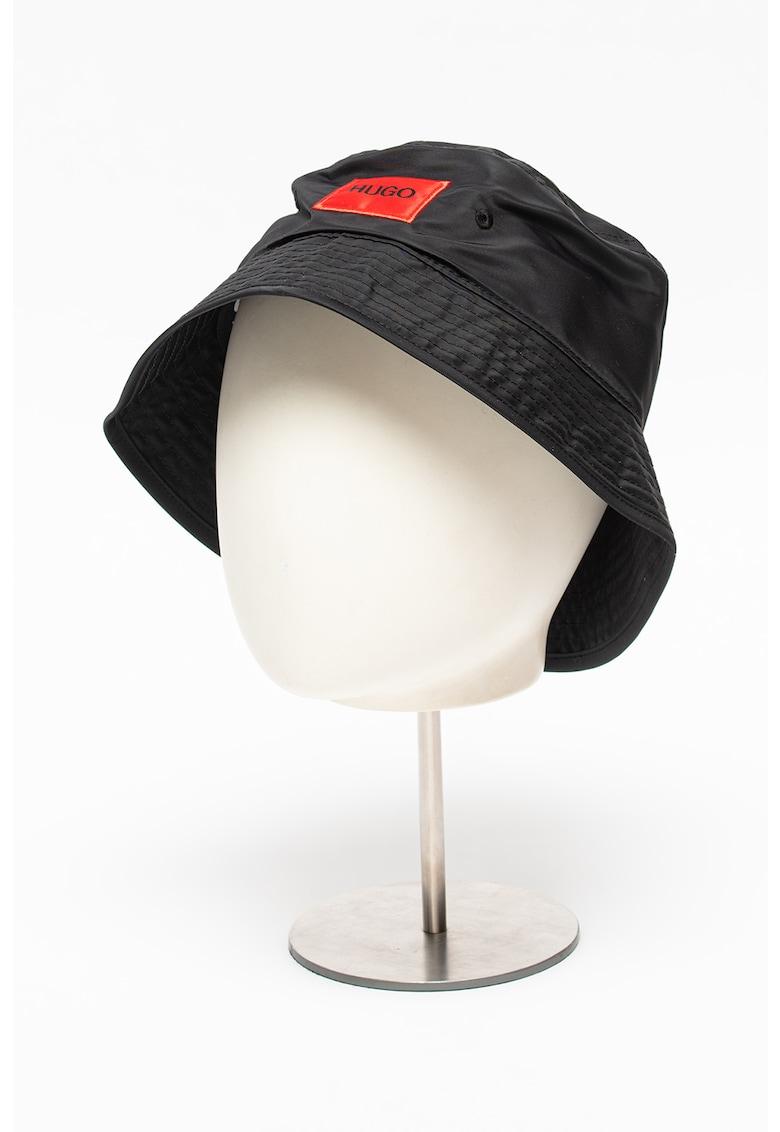 Palarie bucket cu aplicatie logo Men-X imagine fashiondays.ro 2021
