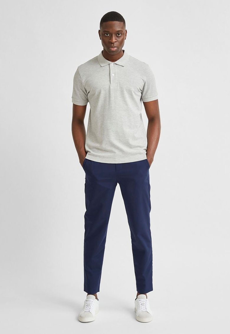 Tricou polo din bumbac organic Neo Selected Homme fashiondays.ro