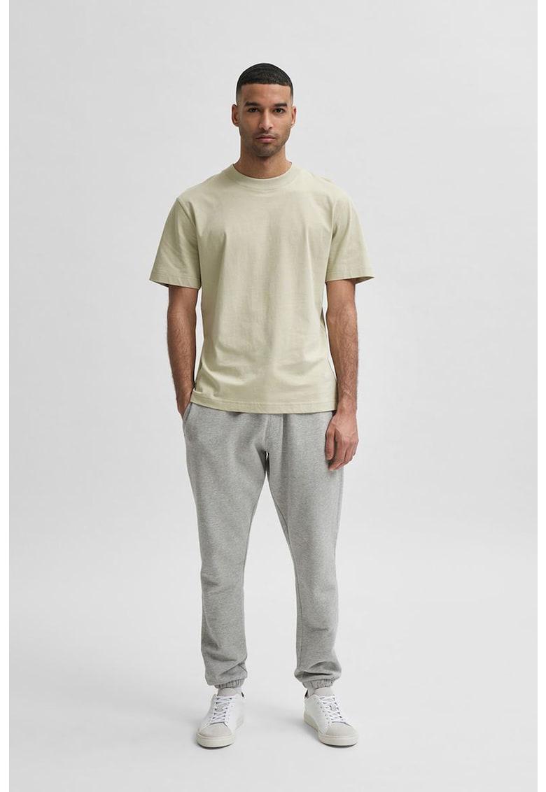 Tricou relaxed fit de bumbac organic imagine fashiondays.ro