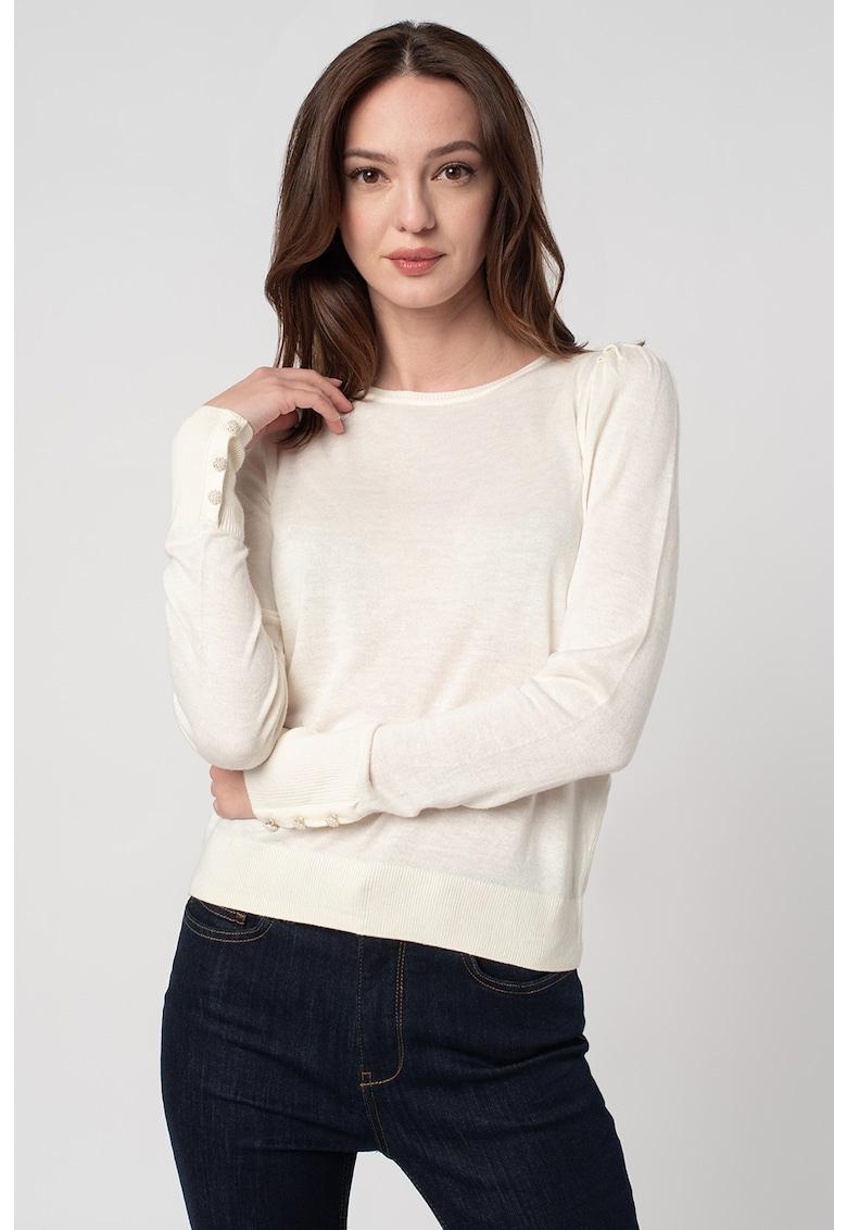 Bluza tricotata fin din amestec de modal si matase Silke