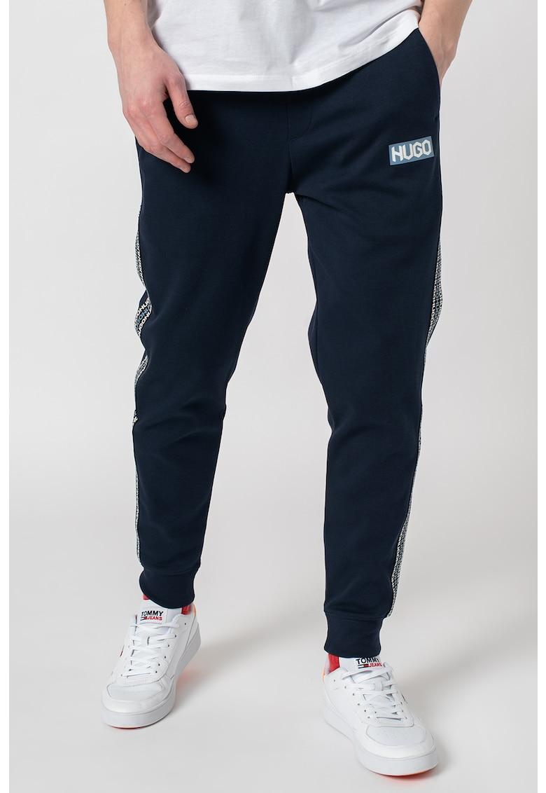 HUGO Hugo Boss Pantaloni sport cu segmente laterale cu logo Donburi