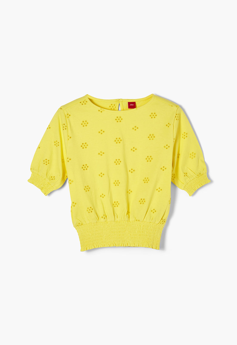 Bluza cu model pointelle s.Oliver fashiondays.ro