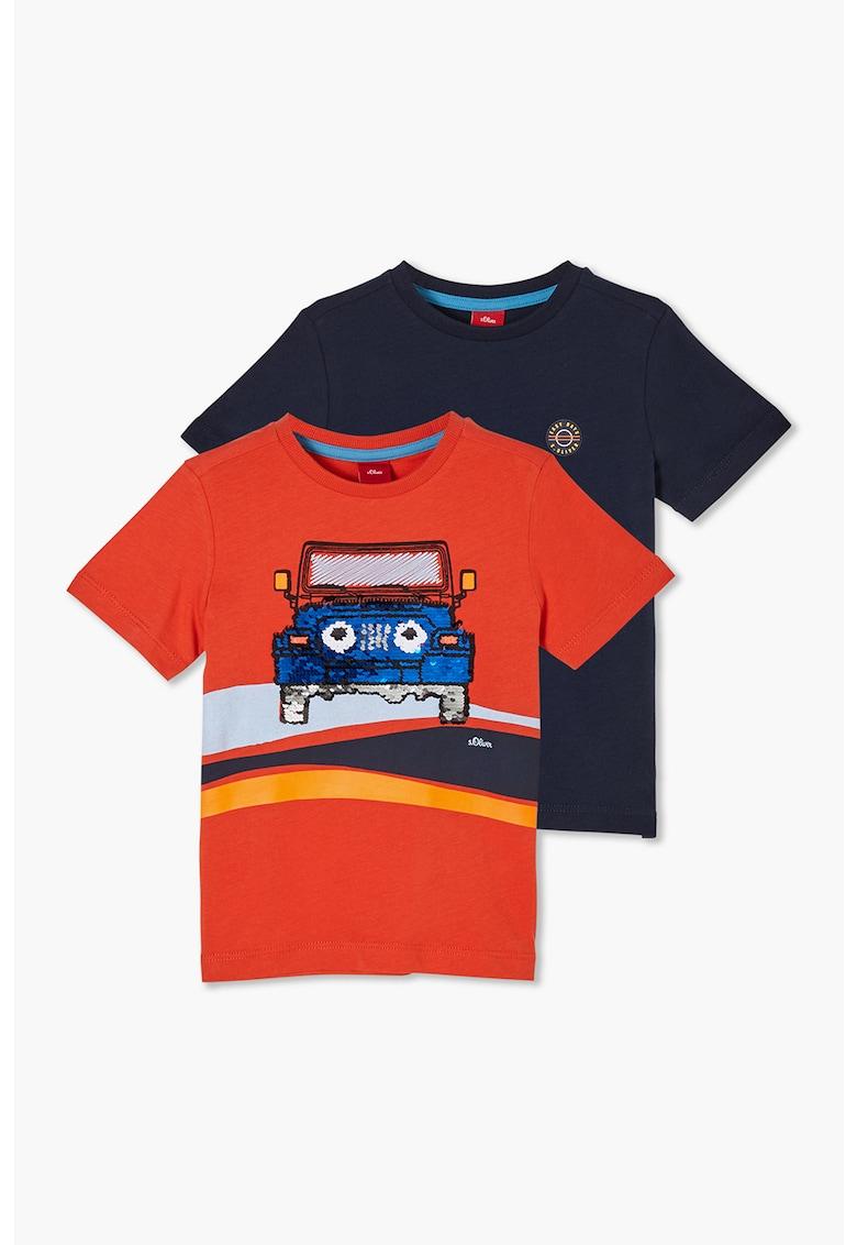 Set de tricouri - 2 piese s.Oliver fashiondays.ro
