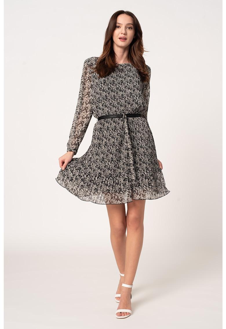Rochie plisata din sifon