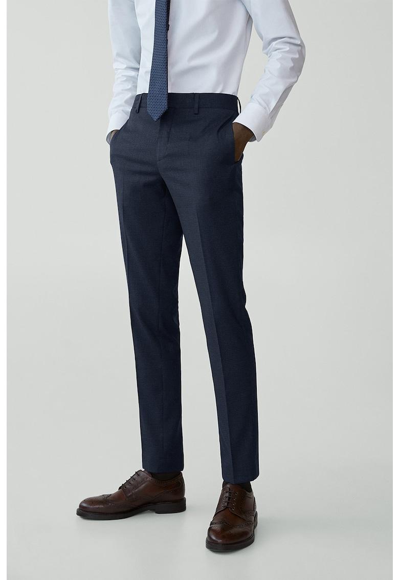 Pantaloni eleganti super slim Paulo fashiondays.ro