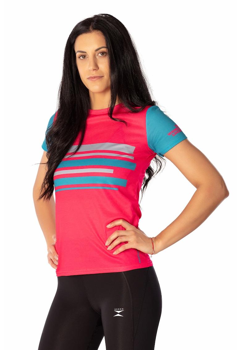 Tricou pentru alergare Mile 1 THE WOMEN'S LOCKER fashiondays.ro