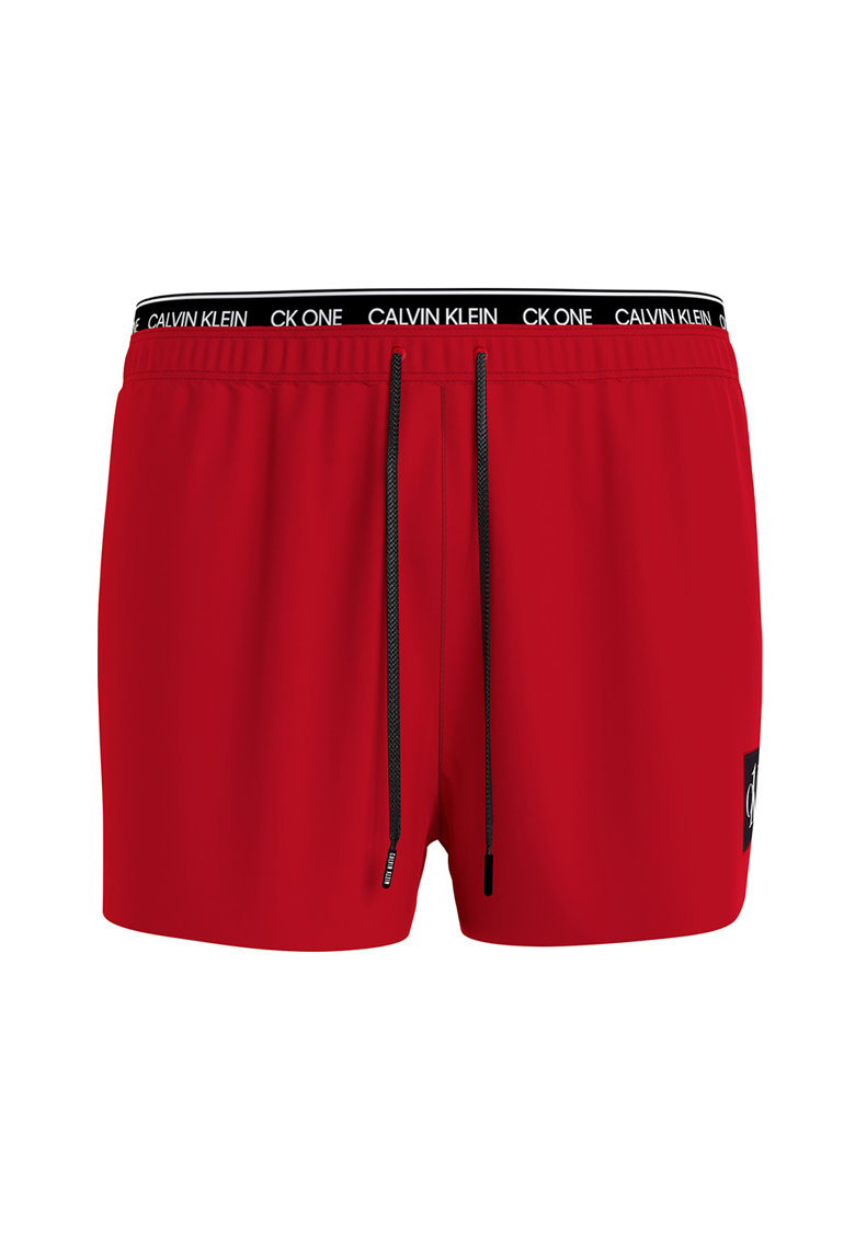 Pantaloni scurti de baie cu banda logo in talie imagine fashiondays.ro 2021