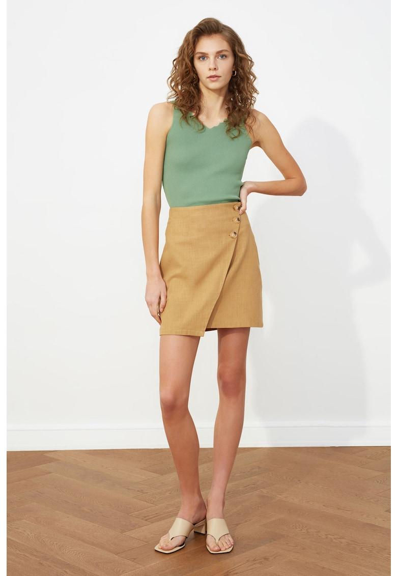 Fusta mini cu model petrecut poza fashiondays