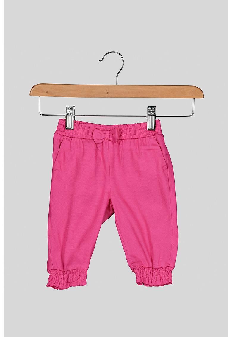 Pantaloni din lyocell cu funda