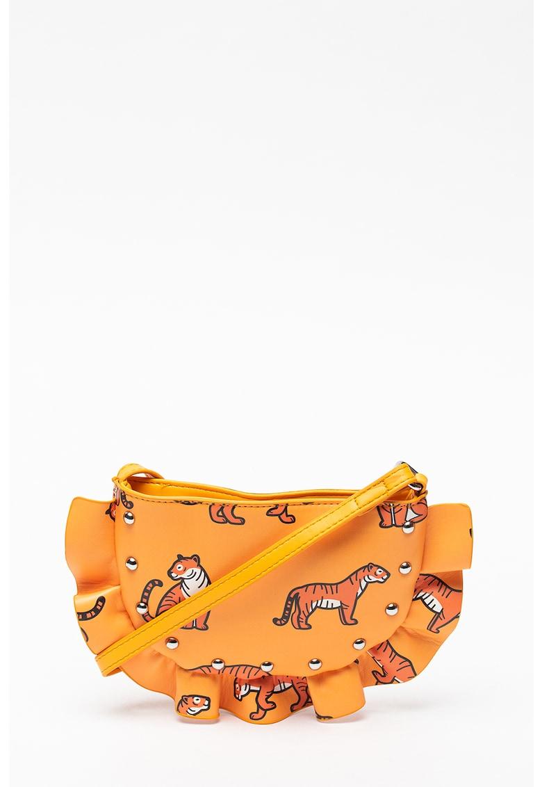 Geanta crossbody de piele ecologica United Colors of Benetton fashiondays.ro
